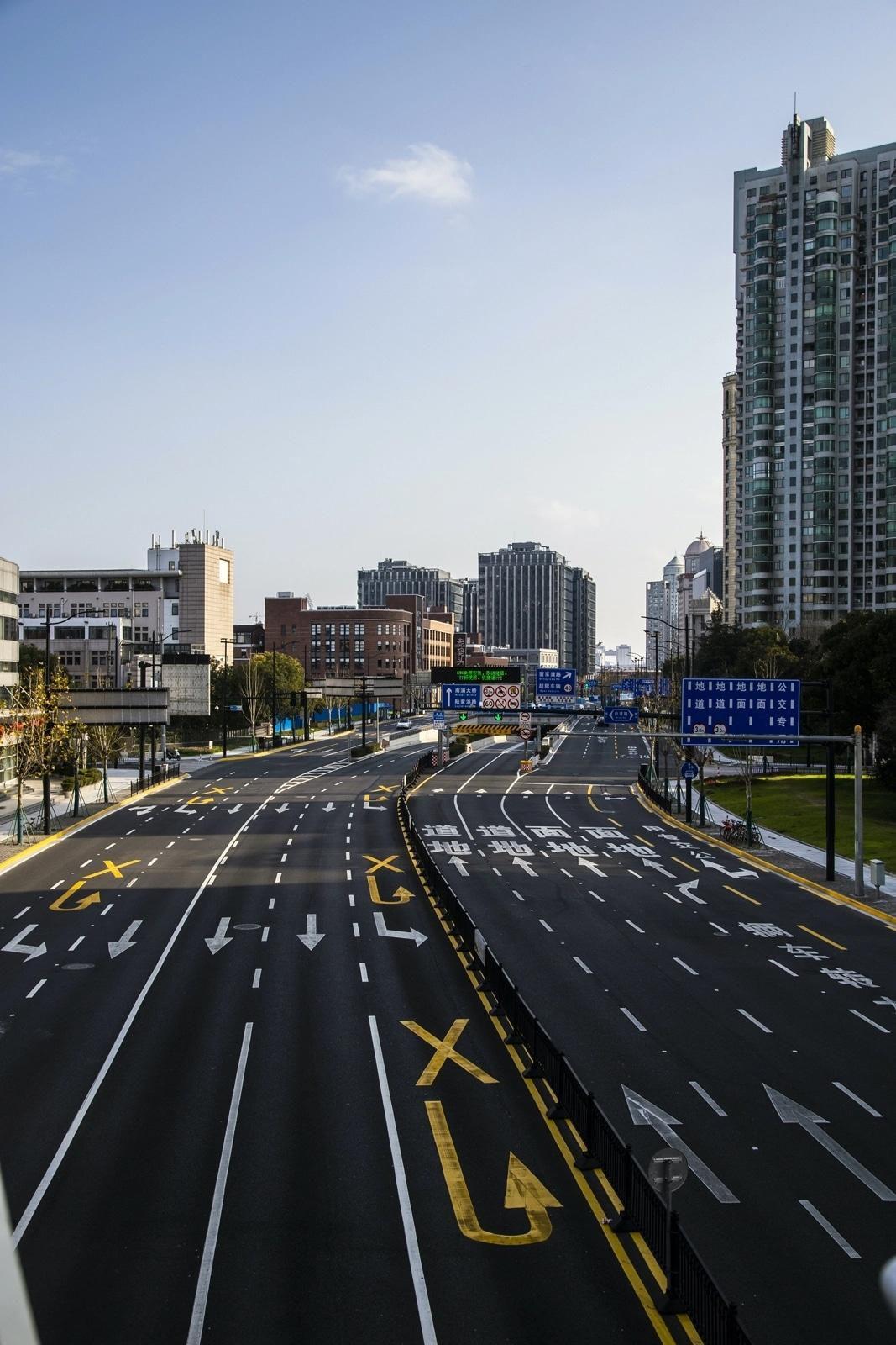 Thành phố Thượng Hải ' không bao giờ ngủ' bỗng thành 'thị trấn ma' giữa đại dịch virus corona Ảnh 5