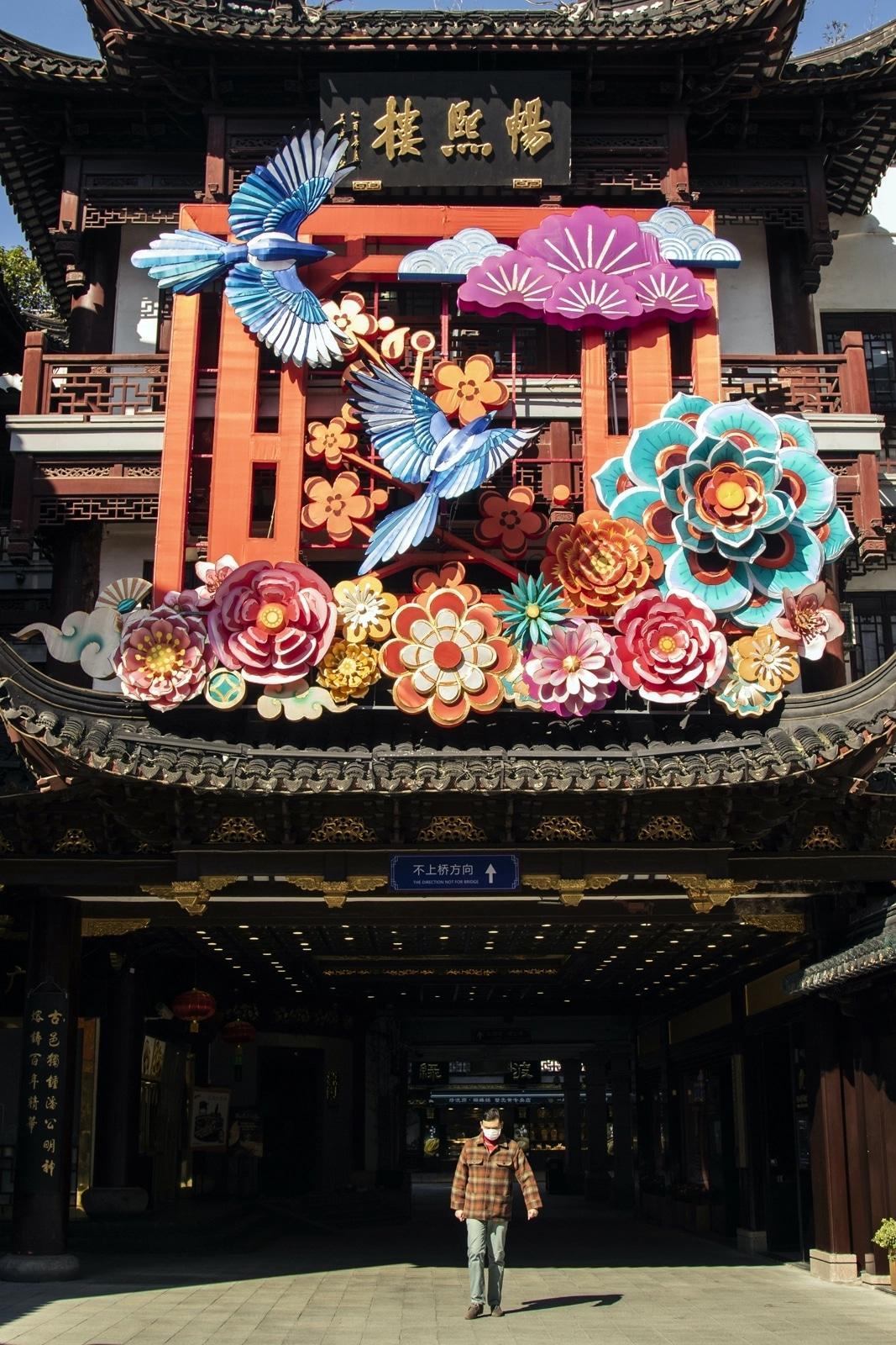 Thành phố Thượng Hải ' không bao giờ ngủ' bỗng thành 'thị trấn ma' giữa đại dịch virus corona Ảnh 2