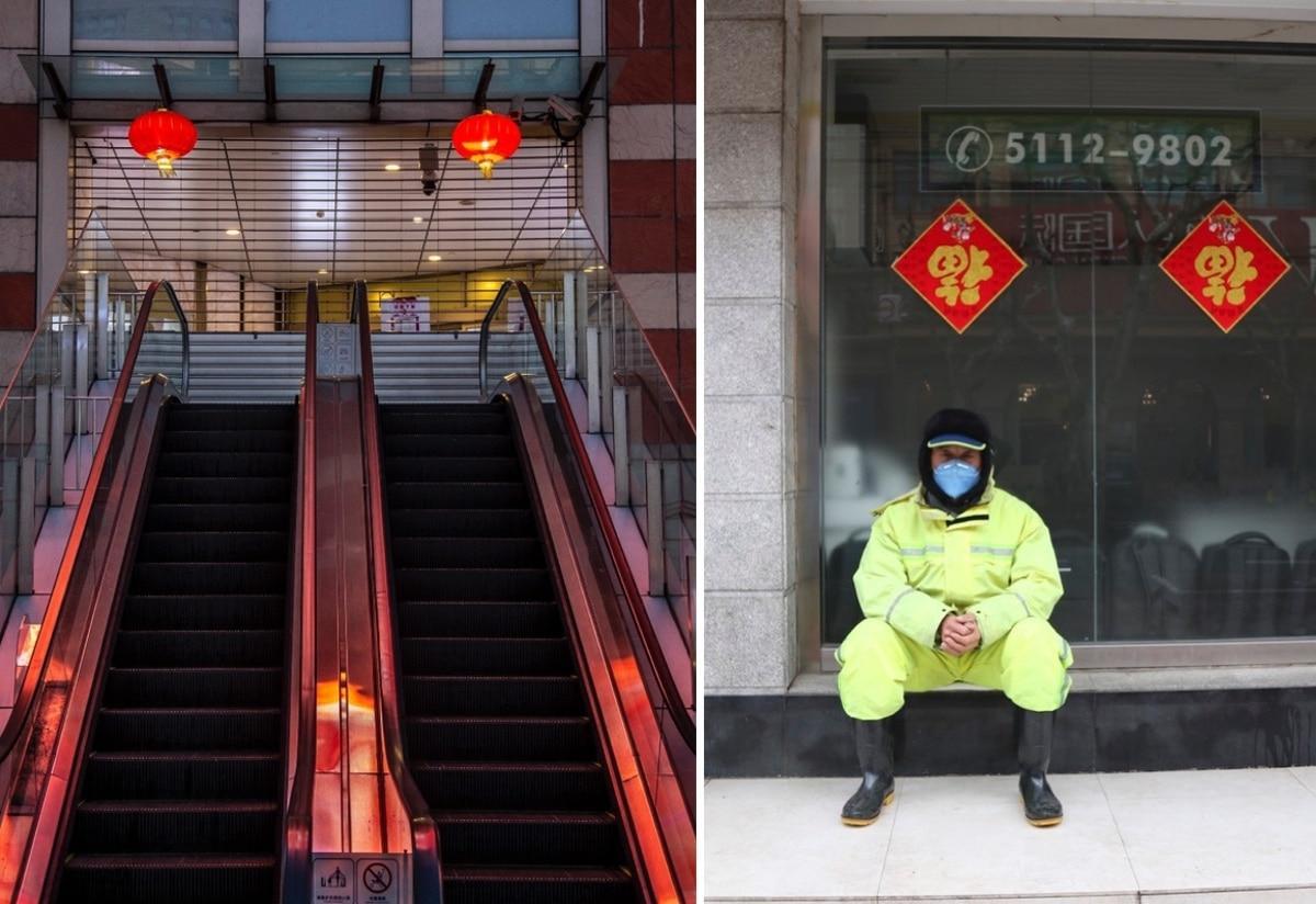 Thành phố Thượng Hải ' không bao giờ ngủ' bỗng thành 'thị trấn ma' giữa đại dịch virus corona Ảnh 10