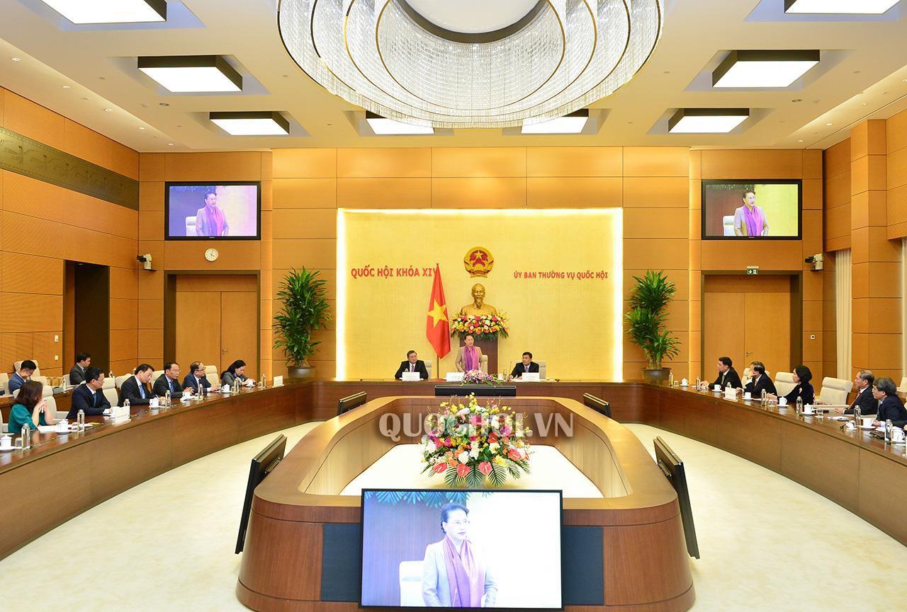 Chủ tịch Quốc hội tiếp các Đại sứ, Trưởng cơ quan đại diện Việt Nam ở nước ngoài Ảnh 1