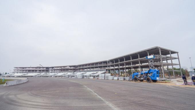 Cận cảnh không khí gấp rút thi công hạ tầng phục vụ Giải F1 Ảnh 1