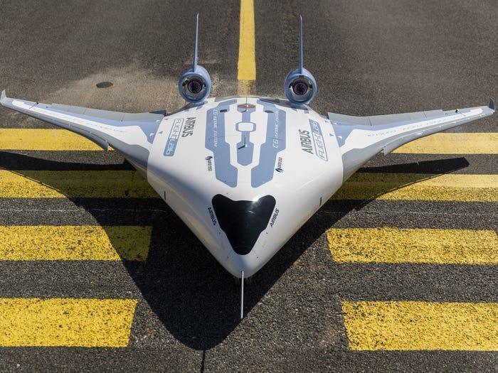 Chi tiết mẫu máy bay độc dị trong tương lai của Airbus Ảnh 1