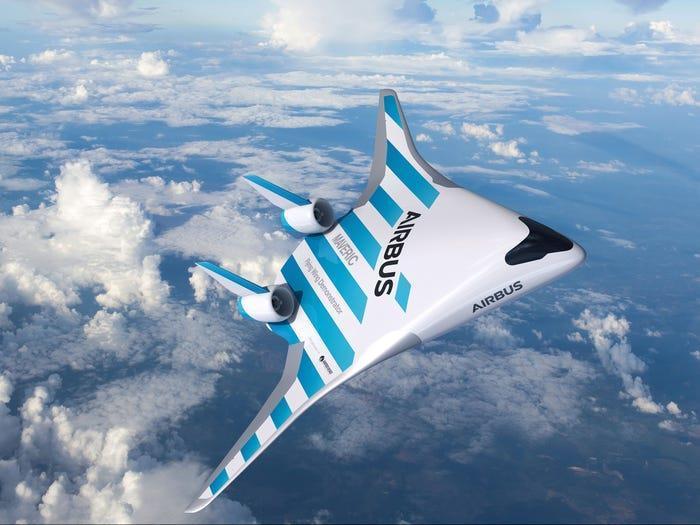 Chi tiết mẫu máy bay độc dị trong tương lai của Airbus Ảnh 3
