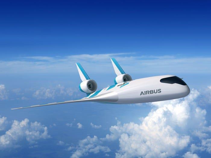 Chi tiết mẫu máy bay độc dị trong tương lai của Airbus Ảnh 2