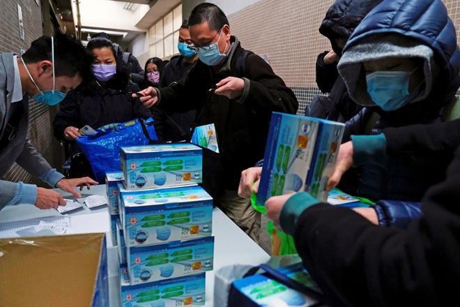 Đường phố trung tâm tài chính Bắc Kinh hoang lạnh vì dịch virus corona Ảnh 9