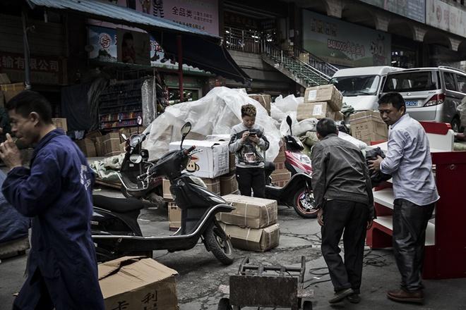 Đường phố trung tâm tài chính Bắc Kinh hoang lạnh vì dịch virus corona Ảnh 10