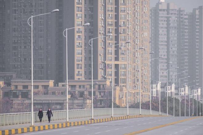 Đường phố trung tâm tài chính Bắc Kinh hoang lạnh vì dịch virus corona Ảnh 7