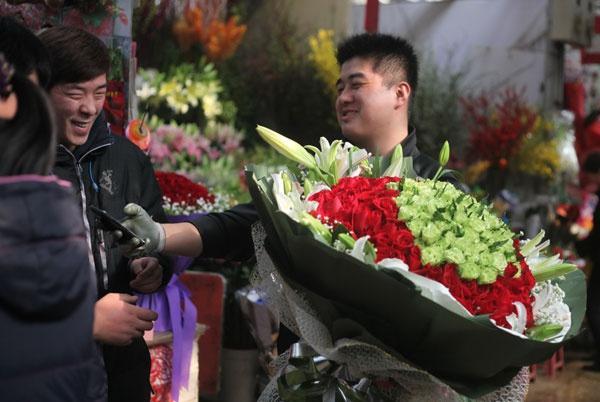 Valentine kỳ lạ ở Trung Quốc vì dịch corona Ảnh 3