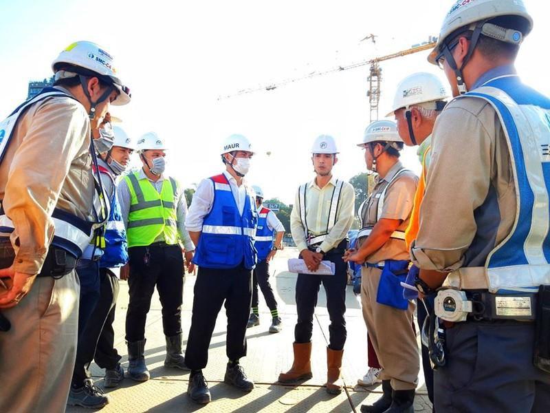Sắp thông tuyến toàn dự án Đường sắt đô thị số 1 Ảnh 4