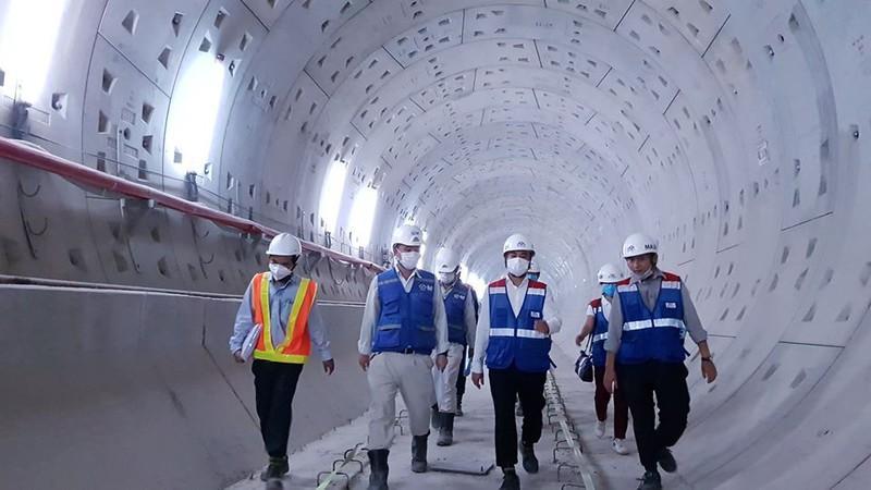 Sắp thông tuyến toàn dự án Đường sắt đô thị số 1 Ảnh 2