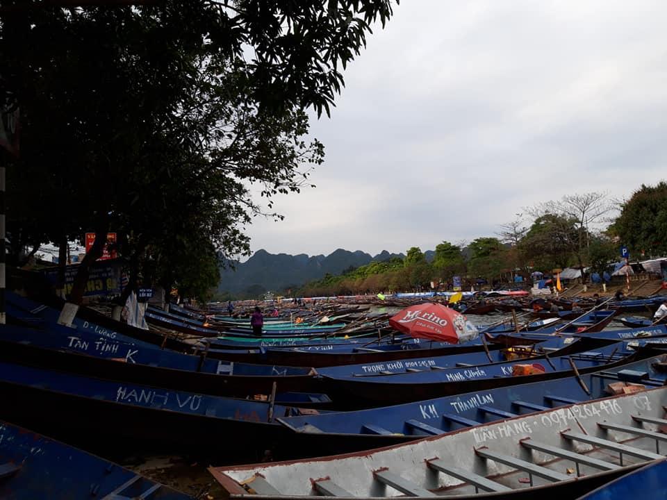 Lễ hội chùa Hương vắng vẻ bởi dịch Covid-19 Ảnh 9