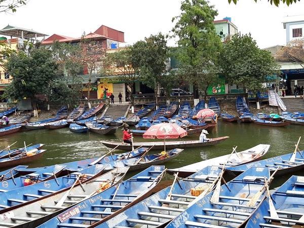 Lễ hội chùa Hương vắng vẻ bởi dịch Covid-19 Ảnh 10