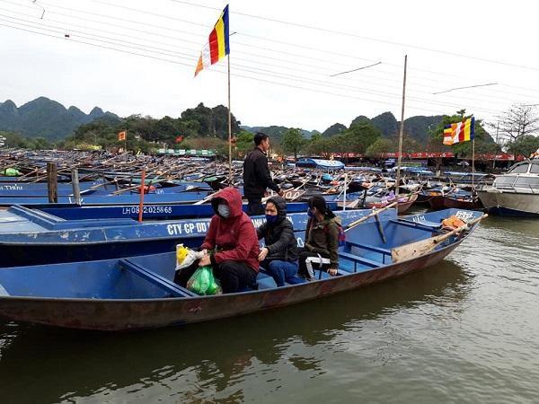 Lễ hội chùa Hương vắng vẻ bởi dịch Covid-19 Ảnh 11