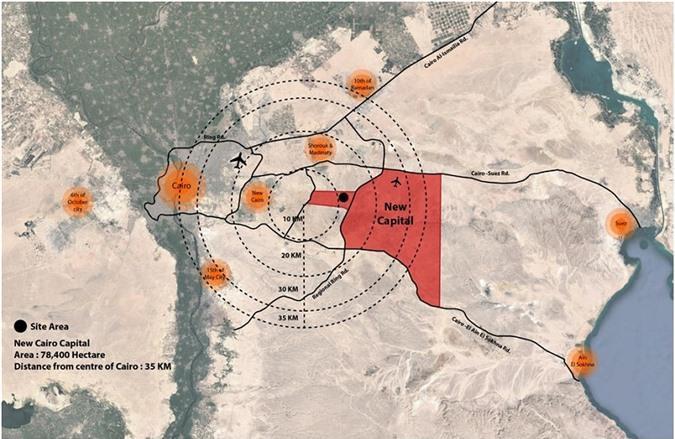 Ai Cập xây dựng thủ đô thông minh ở sa mạc Ảnh 1