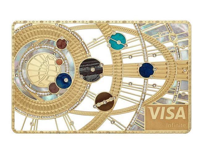 Thẻ tín dụng làm từ kim cương và vàng của giới siêu giàu Ảnh 8