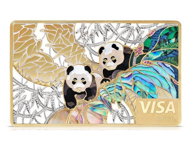 Thẻ tín dụng làm từ kim cương và vàng của giới siêu giàu Ảnh 5