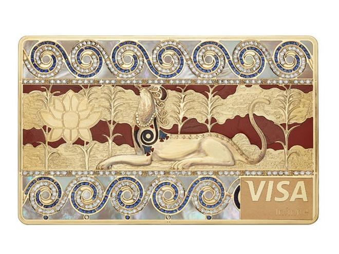 Thẻ tín dụng làm từ kim cương và vàng của giới siêu giàu Ảnh 9