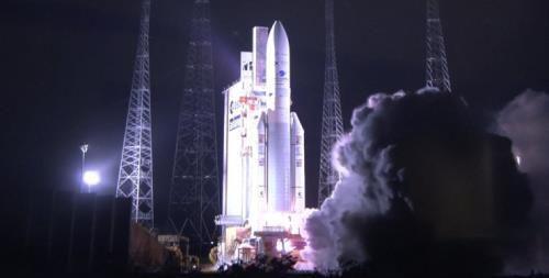 Phóng thành công vệ tinh địa tĩnh quan trắc môi trường đầu tiên trên thế giới Ảnh 1