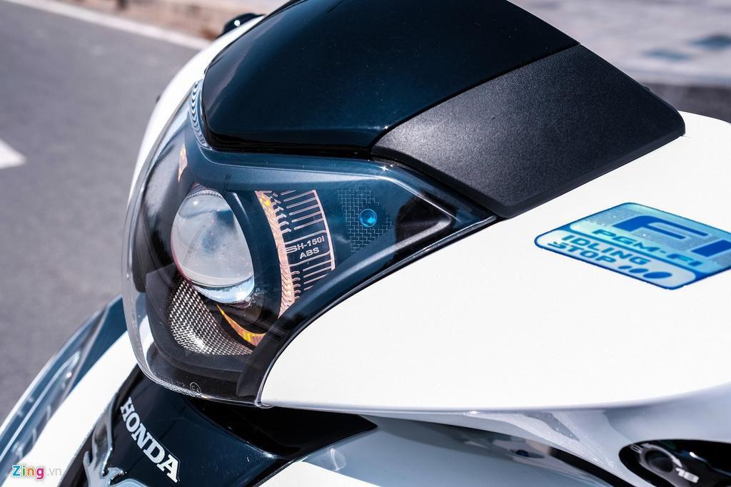 Honda SH 150i với gói độ 150 triệu đồng của biker TP.HCM Ảnh 6