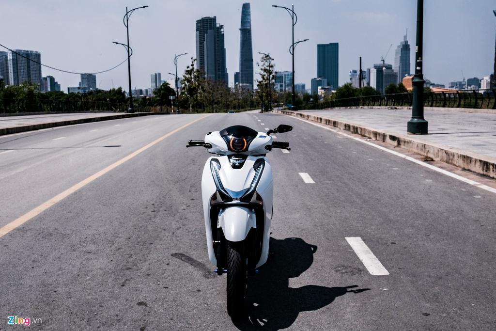 Honda SH 150i với gói độ 150 triệu đồng của biker TP.HCM Ảnh 2