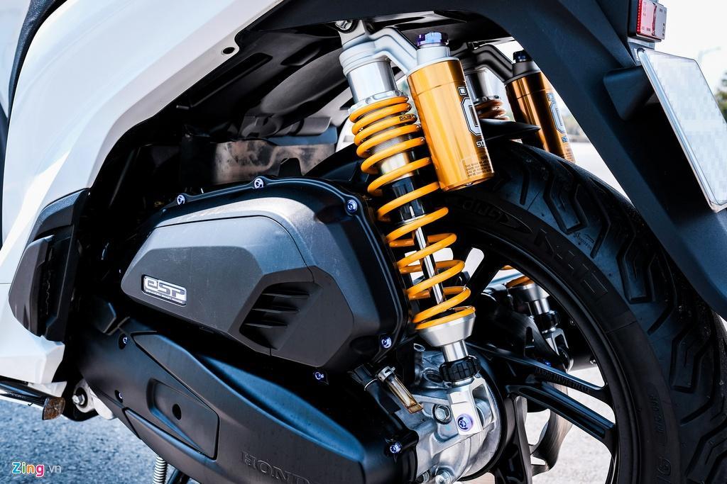 Honda SH 150i với gói độ 150 triệu đồng của biker TP.HCM Ảnh 9