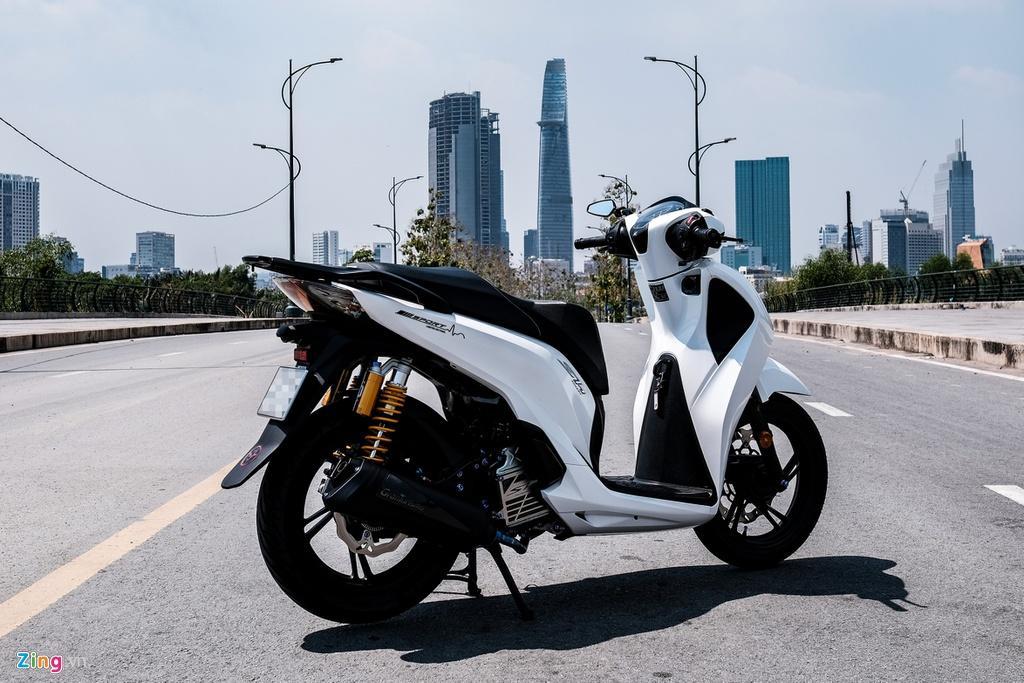 Honda SH 150i với gói độ 150 triệu đồng của biker TP.HCM Ảnh 3