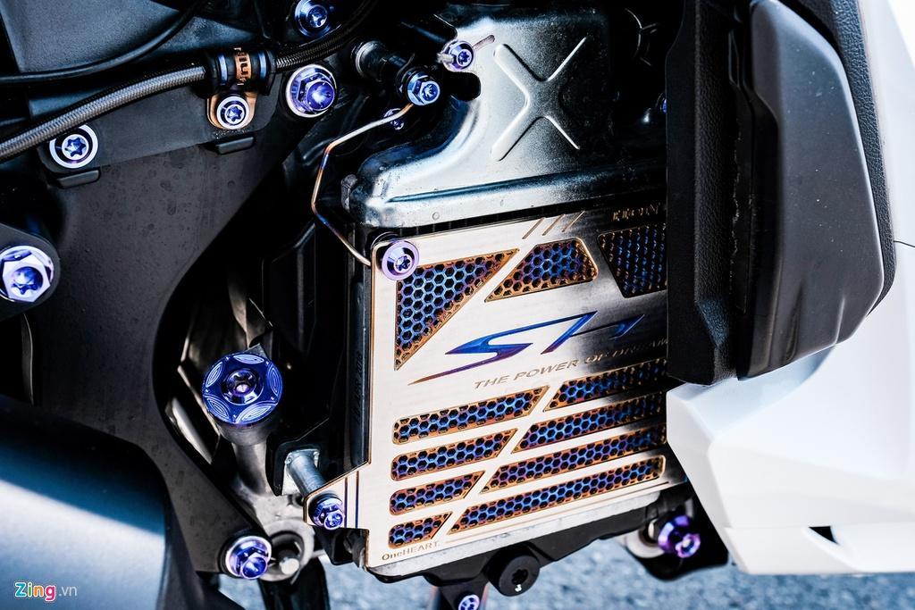 Honda SH 150i với gói độ 150 triệu đồng của biker TP.HCM Ảnh 10