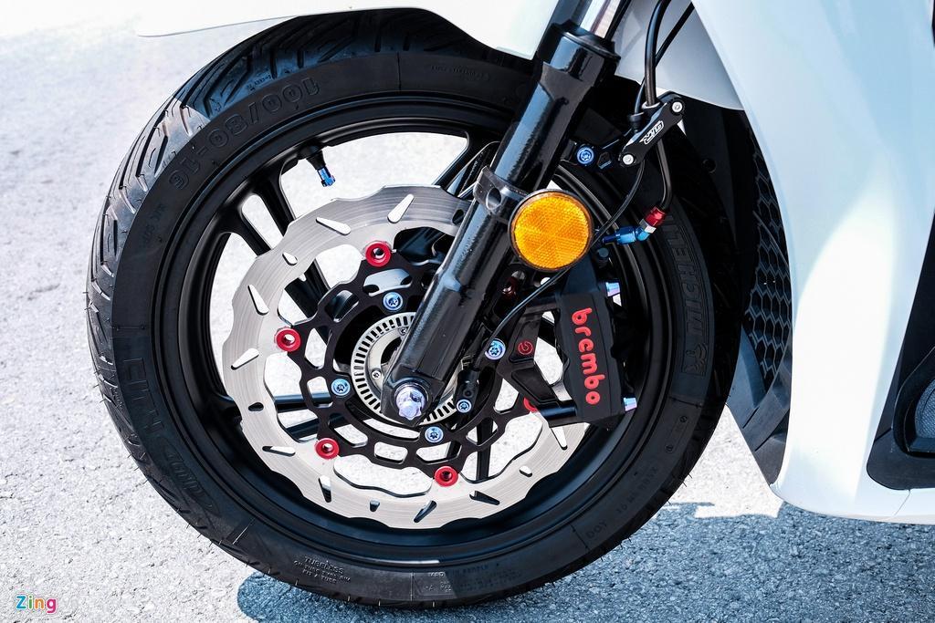 Honda SH 150i với gói độ 150 triệu đồng của biker TP.HCM Ảnh 7