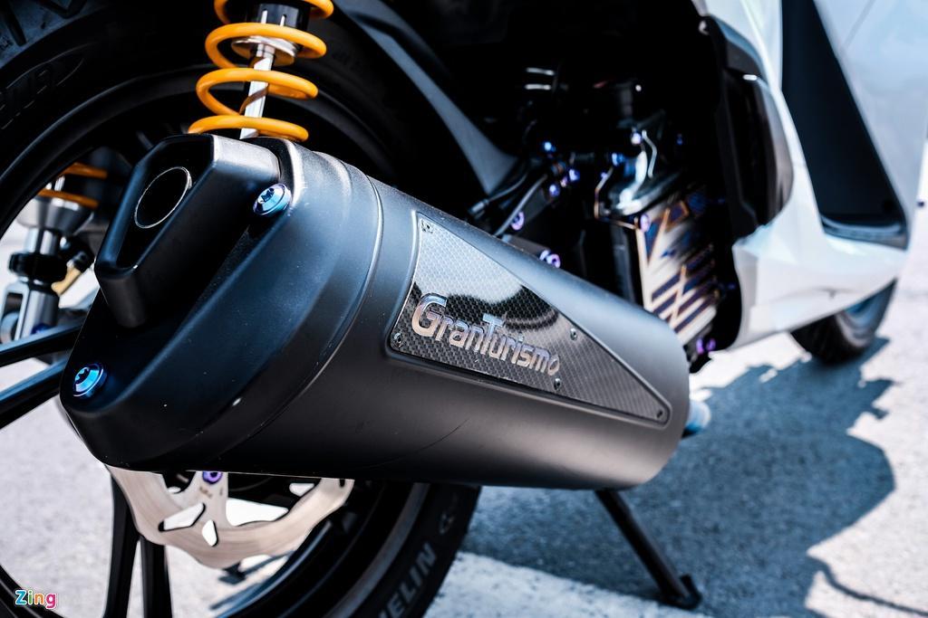 Honda SH 150i với gói độ 150 triệu đồng của biker TP.HCM Ảnh 11