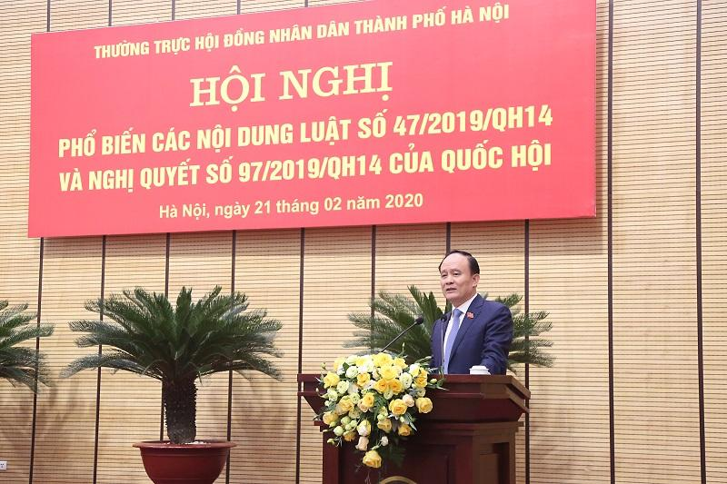 Phó Chủ tịch Thường trực HĐND Thành phố: Hà Nội có lộ trình cụ thể, phối hợp đồng bộ trong triển khai thí điểm chính quyền đô thị