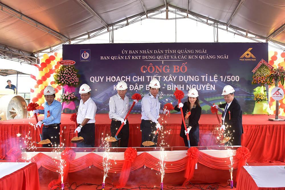 Quảng Ngãi công bố quy hoạch chi tiết khu dân cư Đập Ban