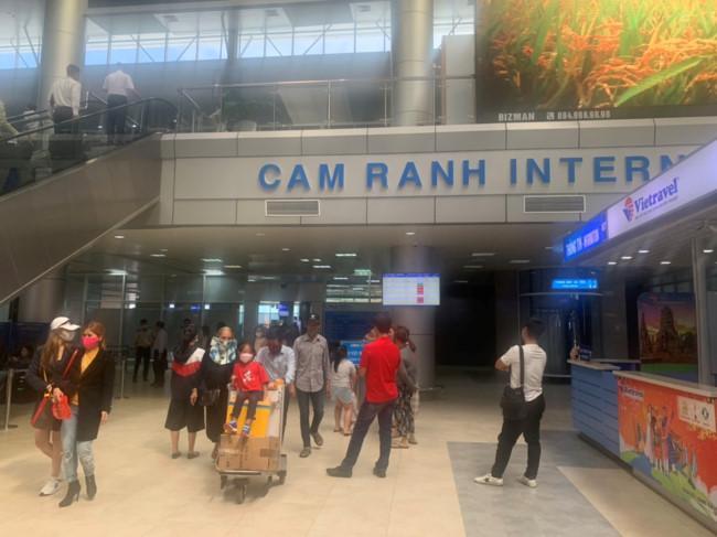 Sân bay Cam Ranh đón 11 chuyến bay từ Hàn Quốc Ảnh 1