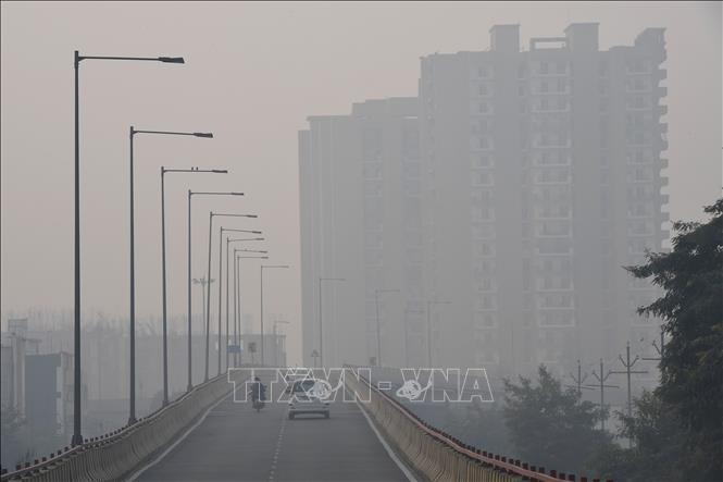 Ô nhiễm bụi mịn 'bủa vây' Trung Quốc và Nam Á Ảnh 1