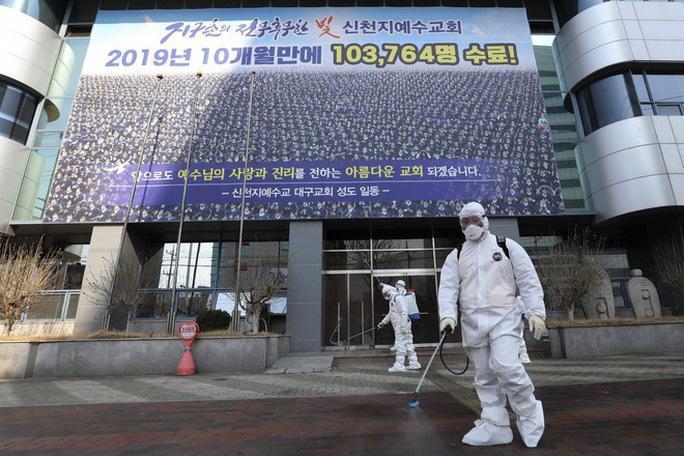 Covid-19 ở Hàn Quốc: Vì sao số ca nhiễm từ vài chục lên gần 1.200 trong vài ngày? Ảnh 1