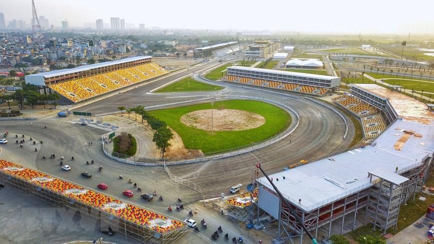 Toàn cảnh trường đua F1 trong giai đoạn nước rút Ảnh 10