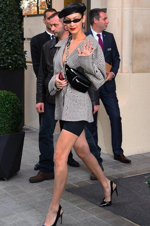 Không riêng Ngọc Trinh, Diệu Nhi cũng tưng bừng đụng độ chân dài triệu đô Kendall Jenner, Bella Hadid Ảnh 2