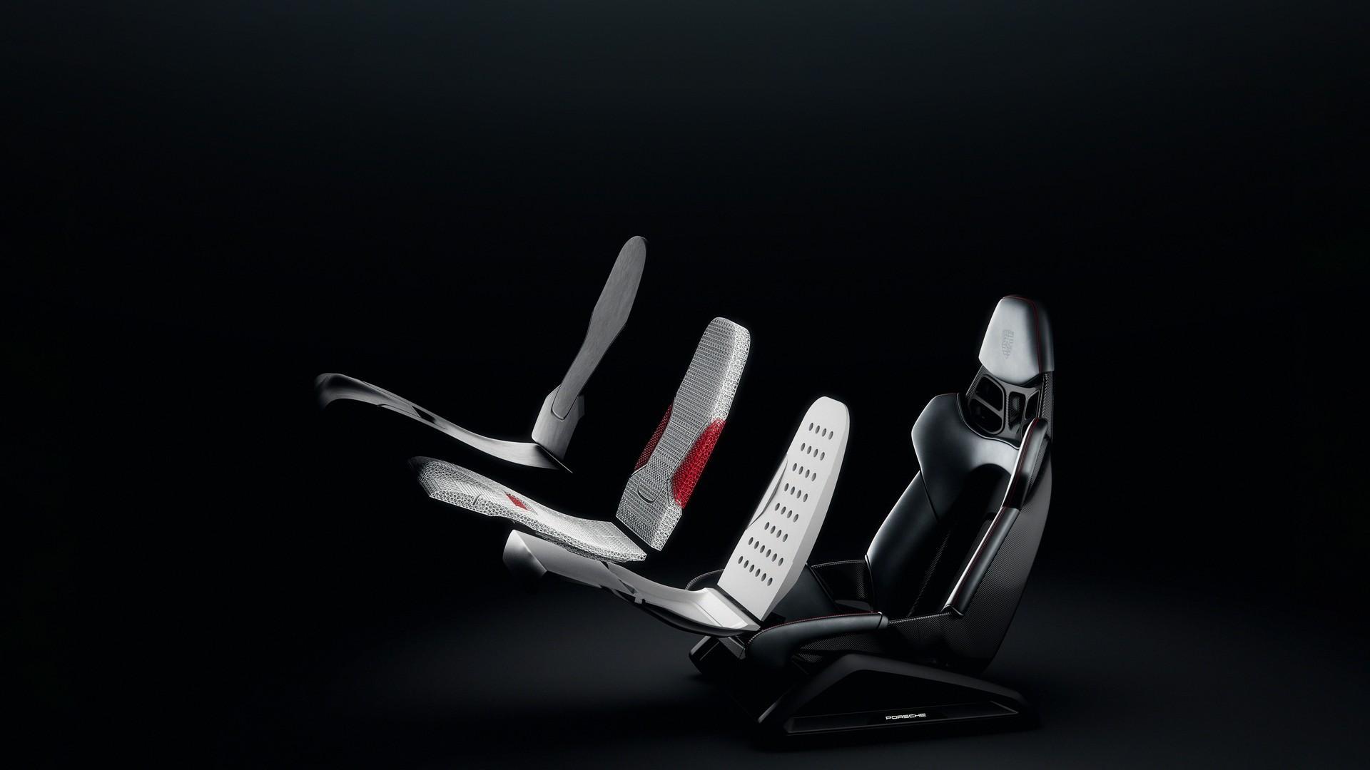 Porsche phát triển ghế ngồi thể thao từ công nghệ in 3D Ảnh 1