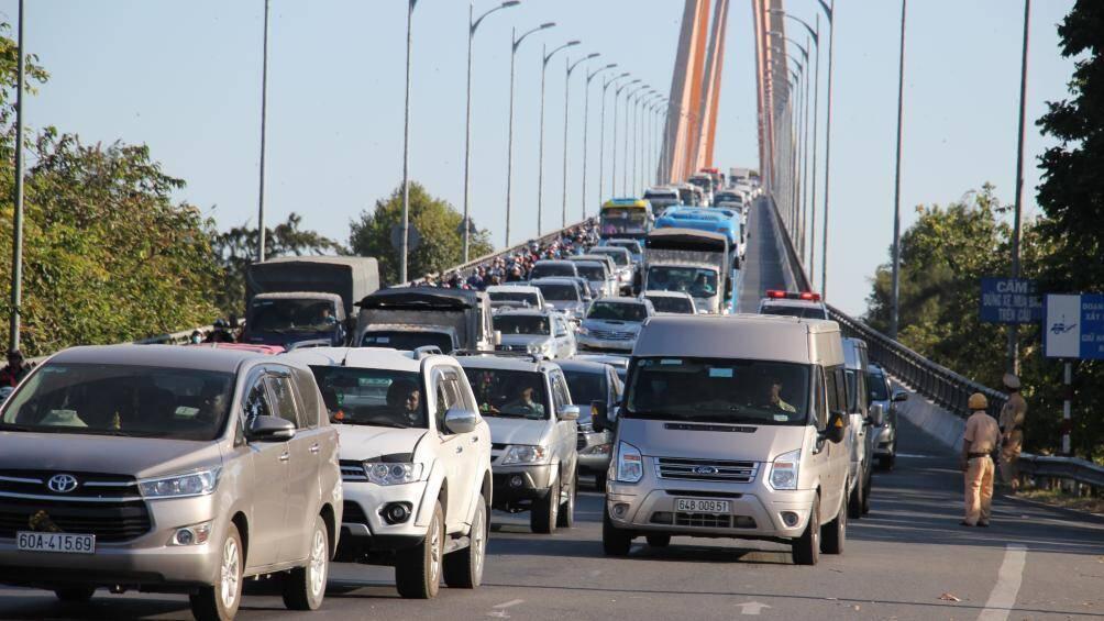 Cấm xe 3 trục qua cầu Rạch Miễu vào 2 ngày cuối tuần Ảnh 2