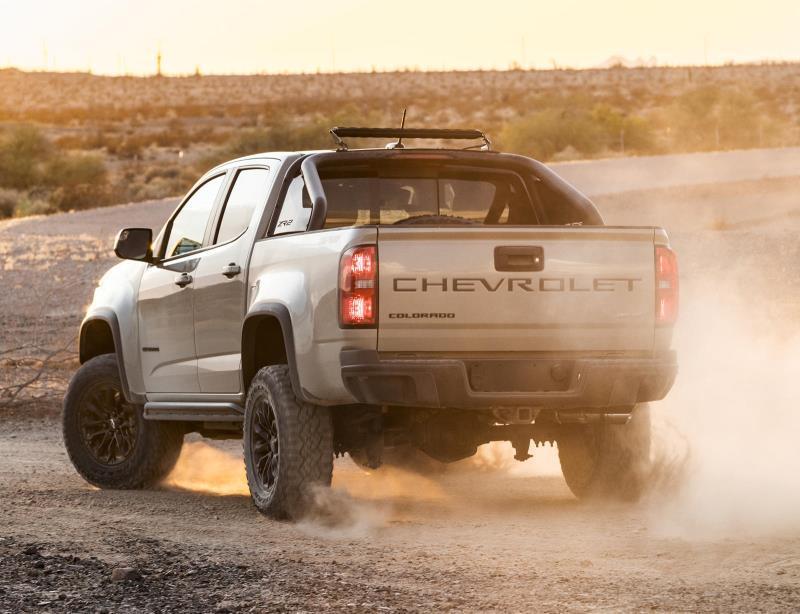 Lộ thông tin Chevy Colorado 2021 tăng giá Ảnh 5
