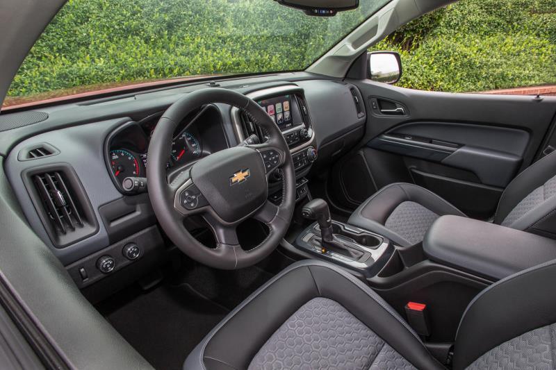 Lộ thông tin Chevy Colorado 2021 tăng giá Ảnh 6
