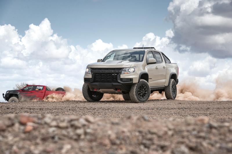 Lộ thông tin Chevy Colorado 2021 tăng giá Ảnh 3