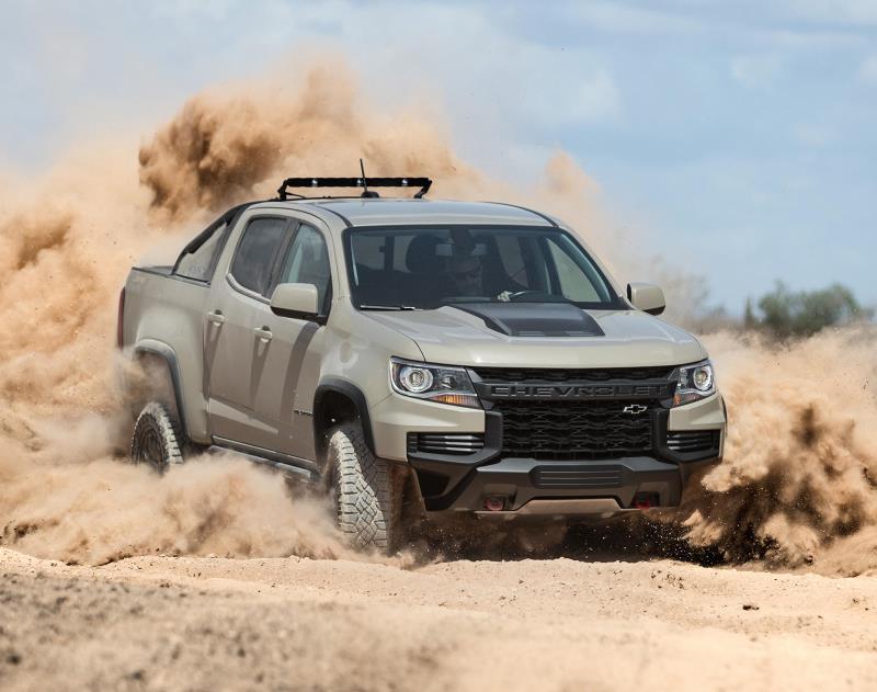 Lộ thông tin Chevy Colorado 2021 tăng giá Ảnh 1