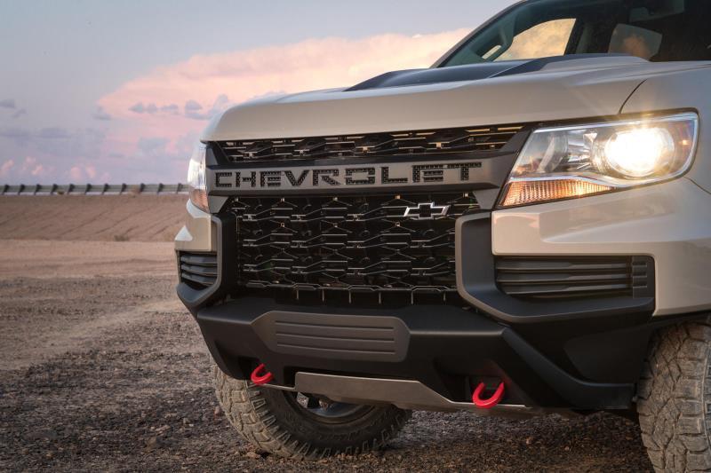 Lộ thông tin Chevy Colorado 2021 tăng giá Ảnh 4