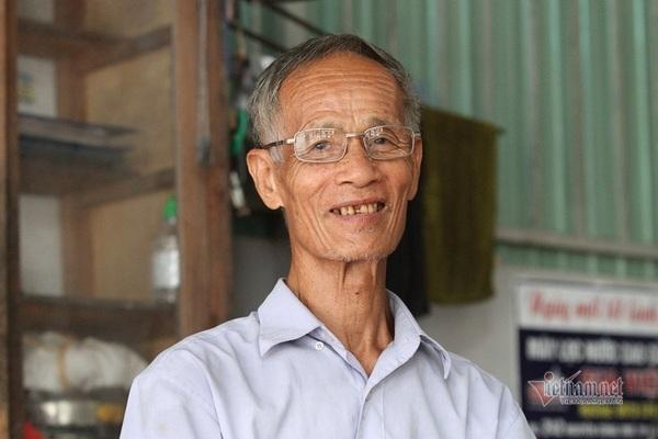 Cựu binh Hà Tĩnh dành dụm lương hưu tặng quà cho bệnh nhân nghèo Ảnh 1