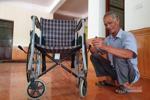 Cựu binh Hà Tĩnh dành dụm lương hưu tặng quà cho bệnh nhân nghèo Ảnh 3