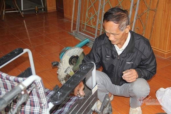 Cựu binh Hà Tĩnh dành dụm lương hưu tặng quà cho bệnh nhân nghèo Ảnh 2
