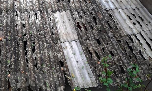 Mưa đá rơi dày đặc ở Lào Cai, một người bị sét đánh tử vong Ảnh 1