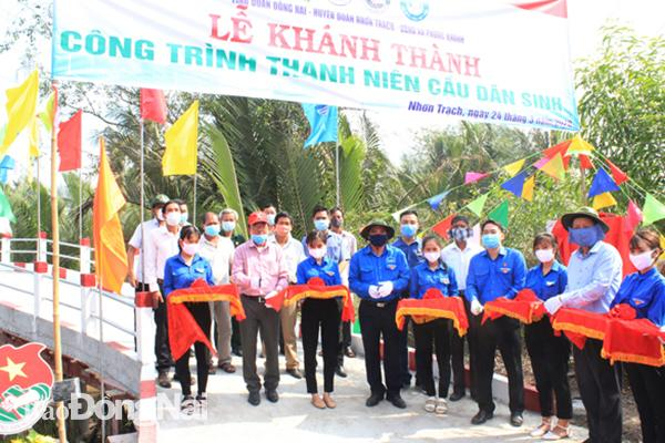 Khánh thành cầu dân sinh đầu tiên trong Tháng Thanh niên Ảnh 1