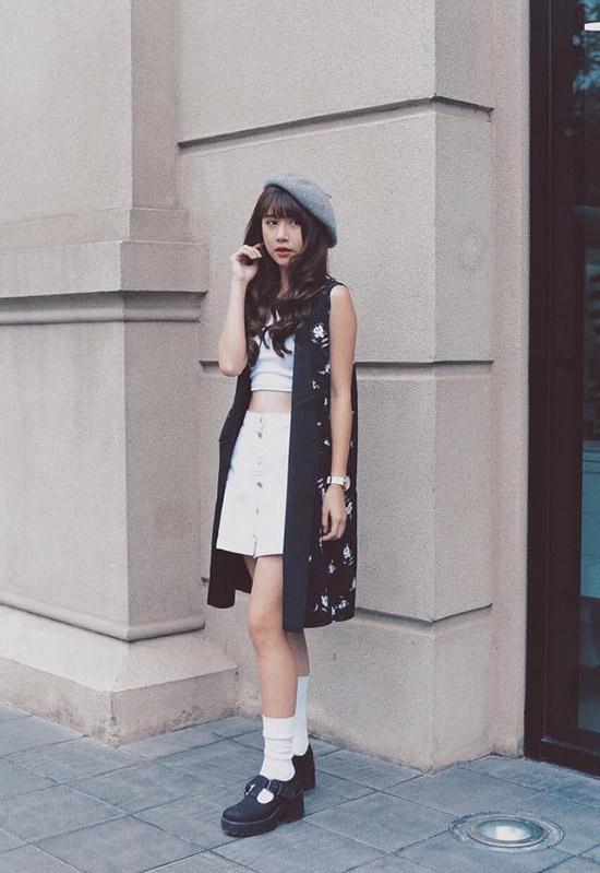 Quỳnh Anh Shyn - từ hot girl Hà thành đến fashionista có style độc lạ Ảnh 7