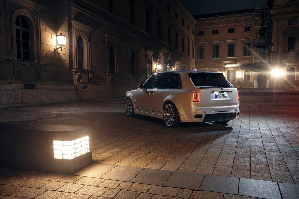 Rolls-Royce Cullinan hầm hố hơn với gói độ từ Novitec Ảnh 5
